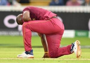 knee injury in cricket